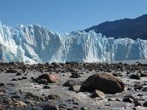Glaciar hermoso Foto de archivo libre de regalías