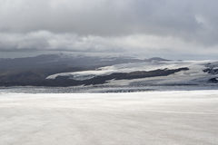 Glaciar in Island Lizenzfreies Stockfoto