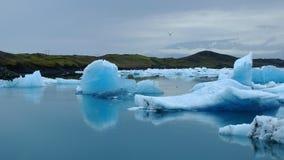 Glaciar Lagune Jokulsarlon Lizenzfreies Stockfoto