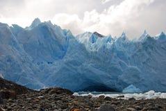 Glaciar merino de Perito en Patagonia Fotos de archivo libres de regalías
