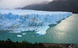 Glaciar merino de Perito en Patagonia Imagen de archivo