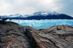 Glaciar merino de Perito en Patagonia Foto de archivo libre de regalías