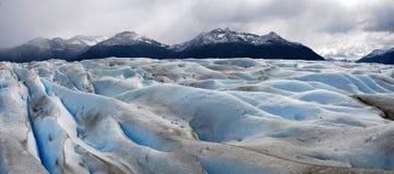Glaciar merino de Perito en Patagonia Foto de archivo