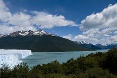 glaciar moreno perito Arkivfoton