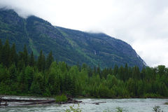 Glaciar N P - Montana fotografía de archivo libre de regalías