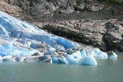 Glaciar noruego Foto de archivo