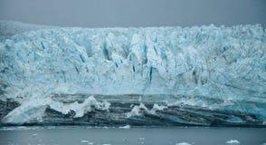 Glaciar pacífico magnífico 1 Fotos de archivo libres de regalías