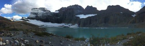 Glaciar Pano de Grinnel Fotografía de archivo