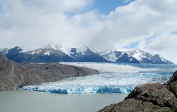Glaciar in Patagonia royalty free stock image