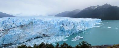 Is glaciar Perito Moreno Royaltyfria Bilder