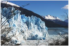 Glaciar Perito Moreno - Calafate - l'Argentine images libres de droits