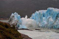 glaciar Perito Moreno del ruptura Imagenes de archivo