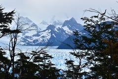 Glaciar Perito Moreno, la Argentina imagen de archivo libre de regalías
