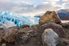 Glaciar Perito Moreno, la Argentina imagenes de archivo