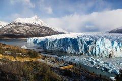 Glaciar Perito Moreno National Park Foto de archivo