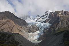 Glaciar Piedras Blancas, Patagonia, Argentina Fotografie Stock Libere da Diritti