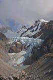 Glaciar Piedras Blancas, Patagonia, Argentina Fotografie Stock