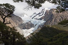 Glaciar Piedras Blancas, Patagonia, Argentina Royalty Free Stock Photo