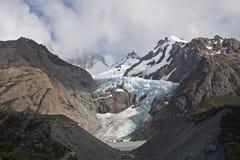 Glaciar Piedras Blancas, Patagonia, Argentina. Small Glaciar Piedras Blancas, Patagonia, Argentina Royalty Free Stock Photos