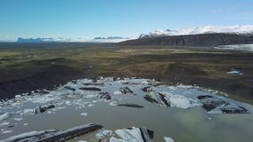Glaciar que derrite en Islandia metrajes