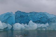 Glaciar San Rafael Chile foto de archivo