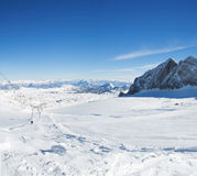Glaciar Ski Resort de Dachstein Imagen de archivo libre de regalías