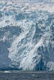 Glaciar y océano Foto de archivo libre de regalías