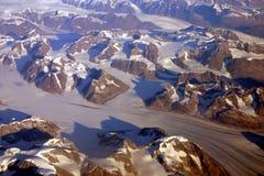 Glaciares Imagen de archivo