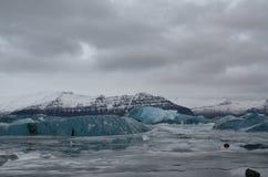 Glaciares Imagen de archivo libre de regalías