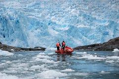 Glaciares chilenos imagen de archivo libre de regalías