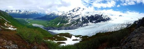 Glaciares de Alaska fotos de archivo libres de regalías