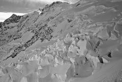 Glaciares de Eiger Fotografía de archivo