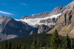 Glaciares en Rocky Mountains Imagen de archivo libre de regalías
