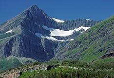 Glaciares y montañas imagen de archivo