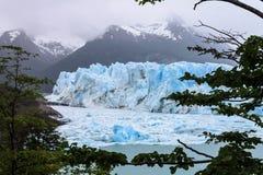 阿根廷glaciar莫尔诺perito 库存图片