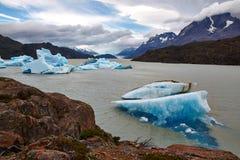 Glacier湖 免版税库存图片