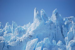 Glacier. View in cold antarctica Stock Photography