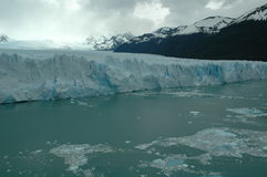 Glacier. Perito Moreno glacier in Argentina stock photo