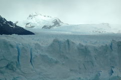 Glacier. Perito Moreno glacier in Argentina stock photos