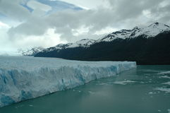 Glacier. Tis is the Perito Moreno, is a glacier in Argentina stock images