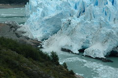 Glacier. Tis is the Perito Moreno, is a glacier in Argentina royalty free stock images