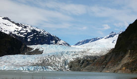 Mendenhall Glacier, Alaska, USA Stock Photo