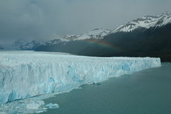 Glacier. Perito Moreno, glacier in Argentina royalty free stock photo