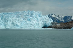 Glacier. Perito Moreno, glacier in Argentina stock photo
