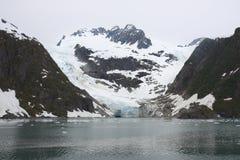 Glacier. In Kenai Fjords National Park Stock Photography