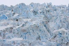 Glacier. In Kenai Fjords National Park Stock Images