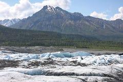 Glacier. Hiking on Matanuska glacier in Alaska Royalty Free Stock Photography