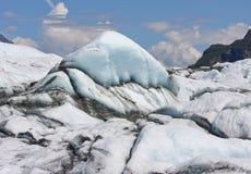 Glacier. A detail of Matanuska glacier in Alaska Royalty Free Stock Photography