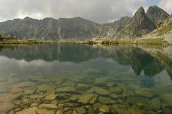 Glacier湖 库存照片
