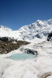 Glacier. Shot in Tibet of China Royalty Free Stock Photo